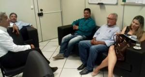 Vereadora Daiana Pedrotti, Presidente da Câmara de Tacuru esteve com caravana de vereadores em recente visita a Capital do Estado, Campo Grande