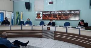 Câmara de Tacuru aprova suspensão do pagamento de consignados
